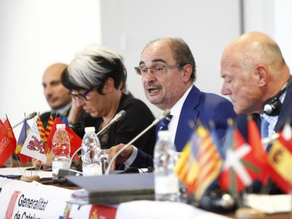 Aragón impide que la CTP pida una mediación para Cataluña