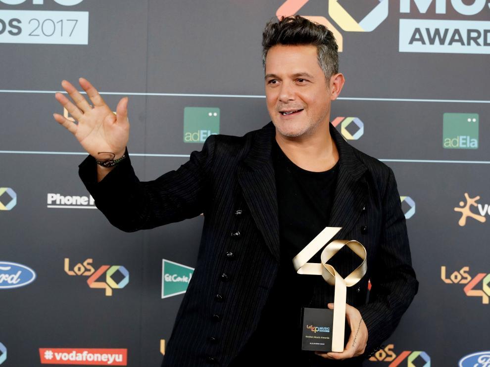 Alejandro Sanz, uno de los cantantes que participarán en el 'Concierto por la libertad'