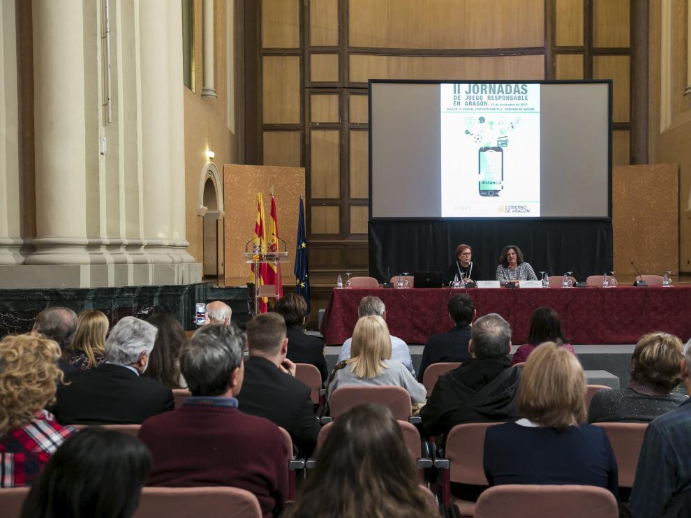 II Jornadas de Juego Responsable en Aragón, celebrada este viernes en el Pignatelli