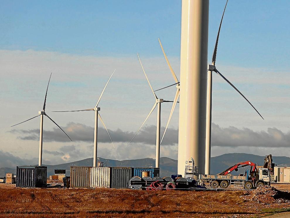 Aragón cuenta con casi 2.000 megavatios de potencia eólica instalada.