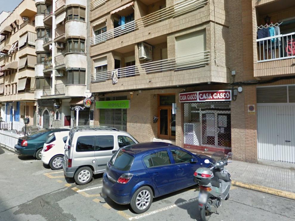 Lugar donde se ha producido el asesinato.