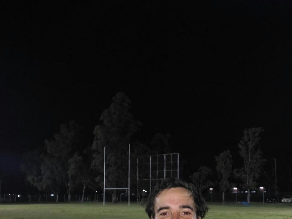El internacional paraguayo Diego Argaña.