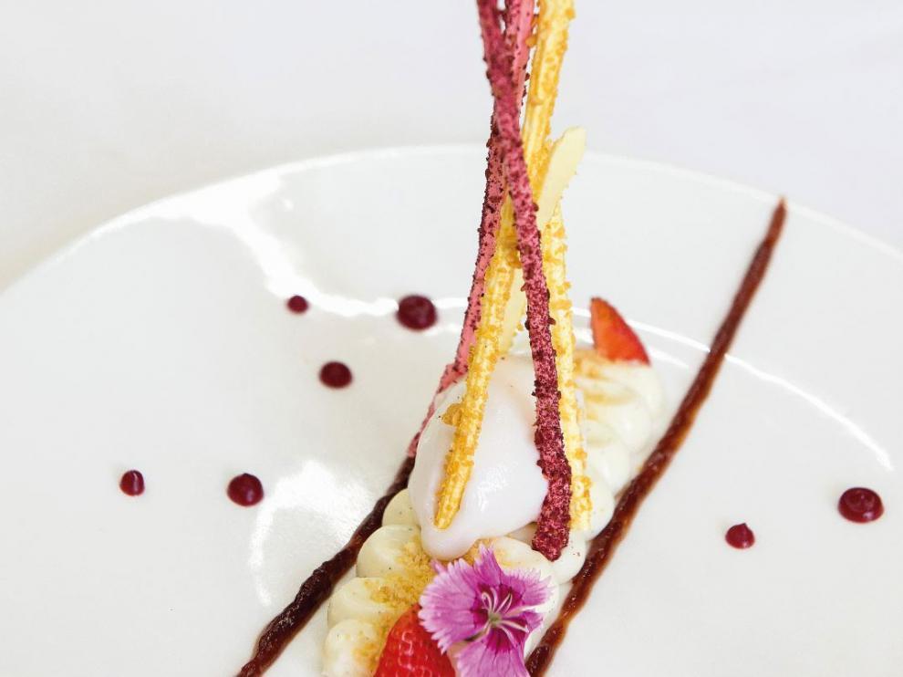 Uno de los platos de la carta del Lillas Pastia.