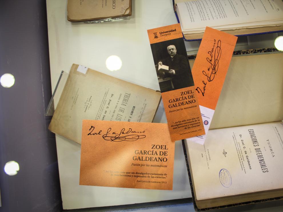 Exposición bibliográfica dedicada a García de Galdeano