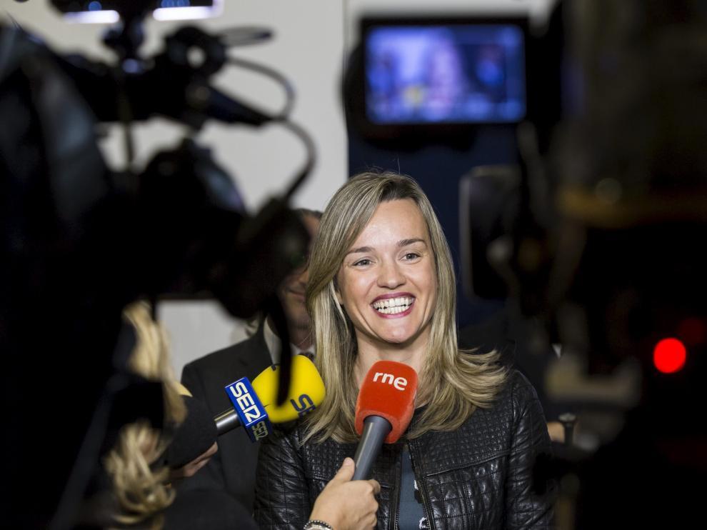Pilar Alegría, consejera de Innovación, Investigación y Universidad