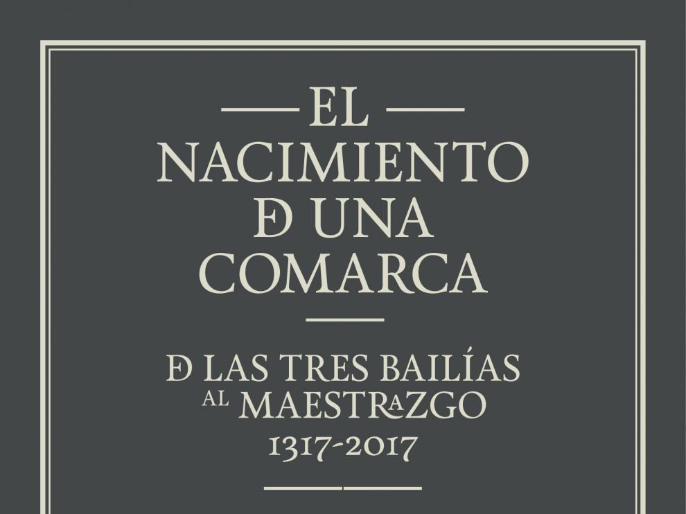 Cartel del 700 aniversario de la comarca del Maestrazgo.