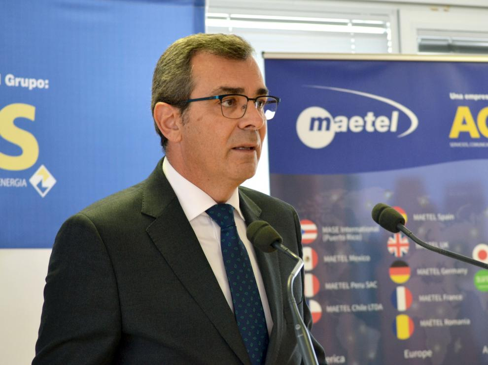 El director general de Maetel, José Luis Celorrio