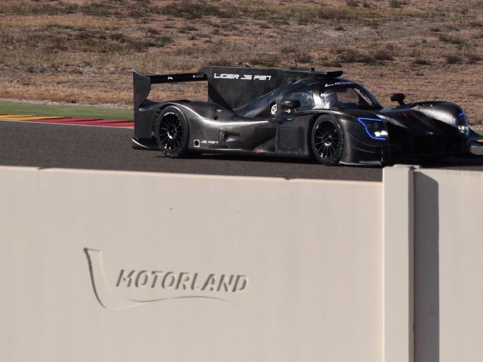 Fernando Alonso en Motorland