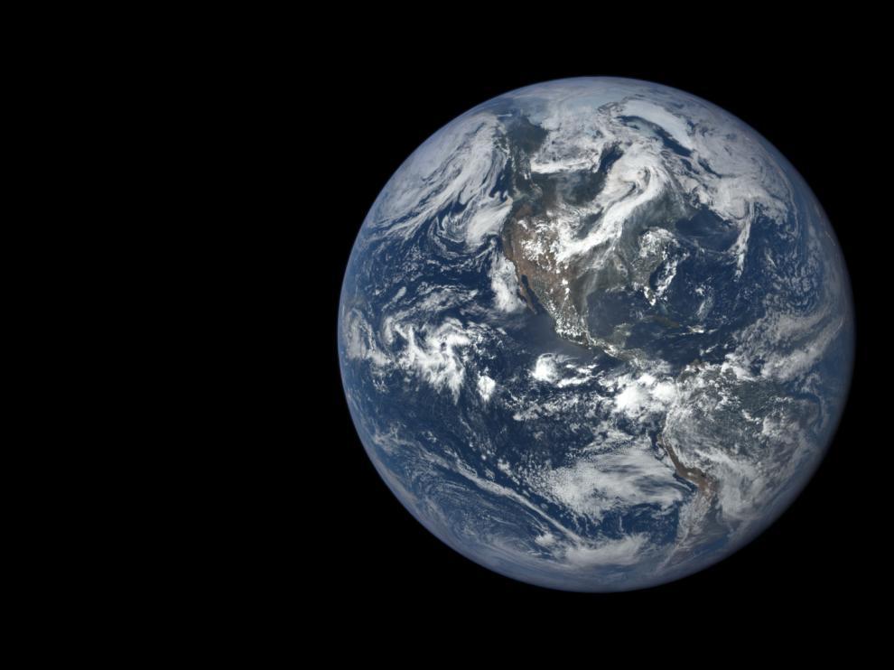 La Tierra es plana... o eso dicen algunos.