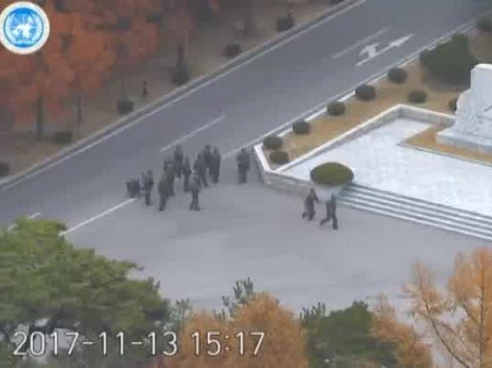 La dramática huida del soldado norcoreano asesinado mientras huía a Corea del Sur