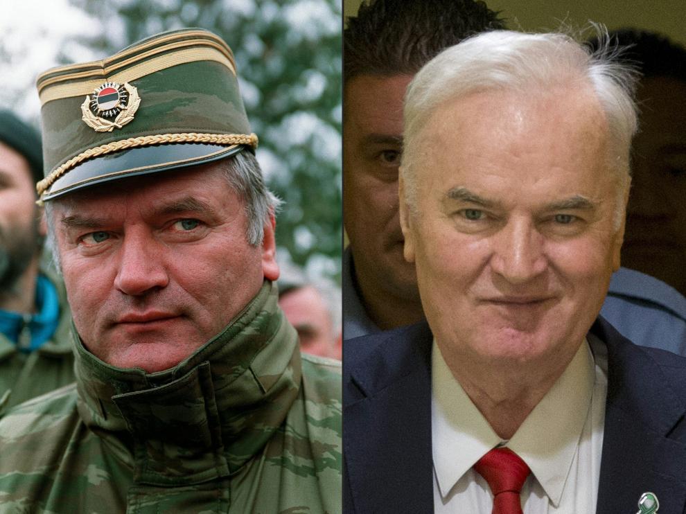 Ratko Mladic, condenado a cadena perpetua por genocidio.