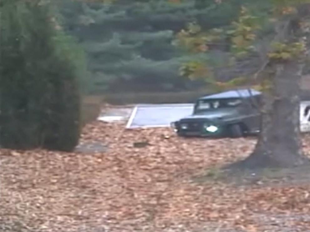 Una captura de un vídeo de vigilancia del 13 de noviembre