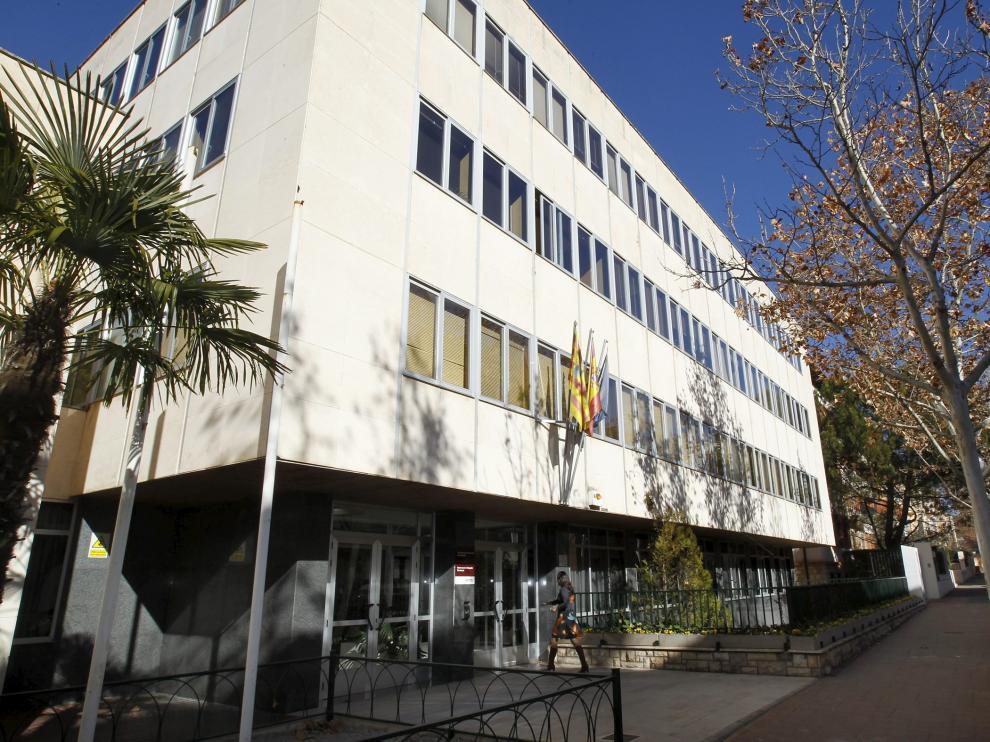Edificio de los juzgados de Teruel.
