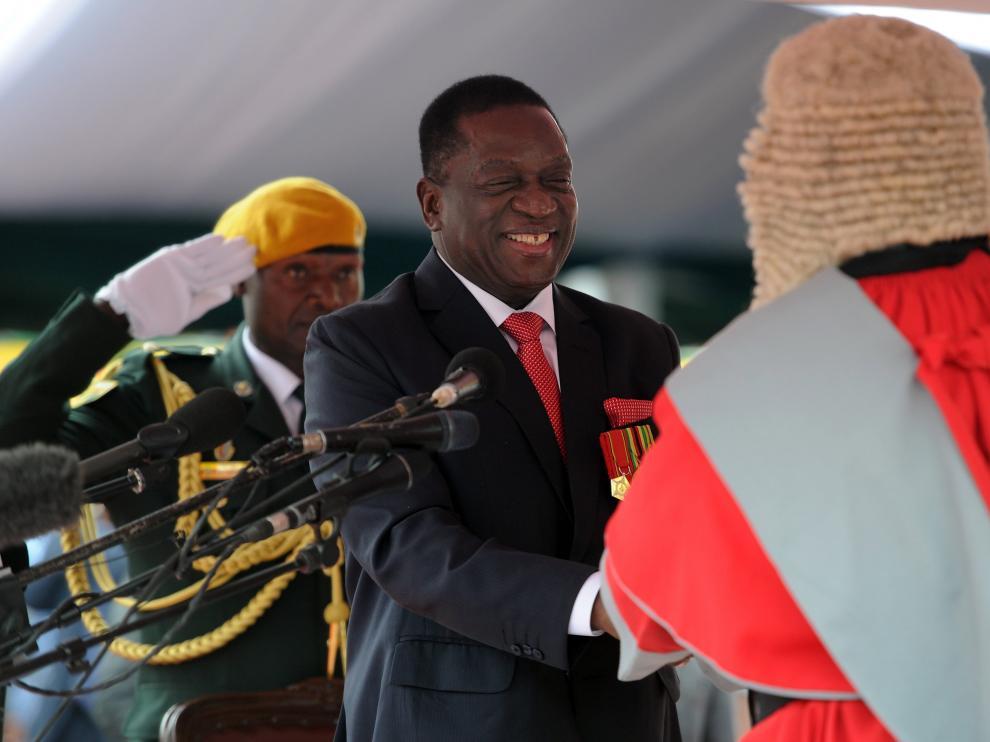 Mnangagwa, nuevo presidente de Zimbabue después del golpe de Estado del 14 de noviembre