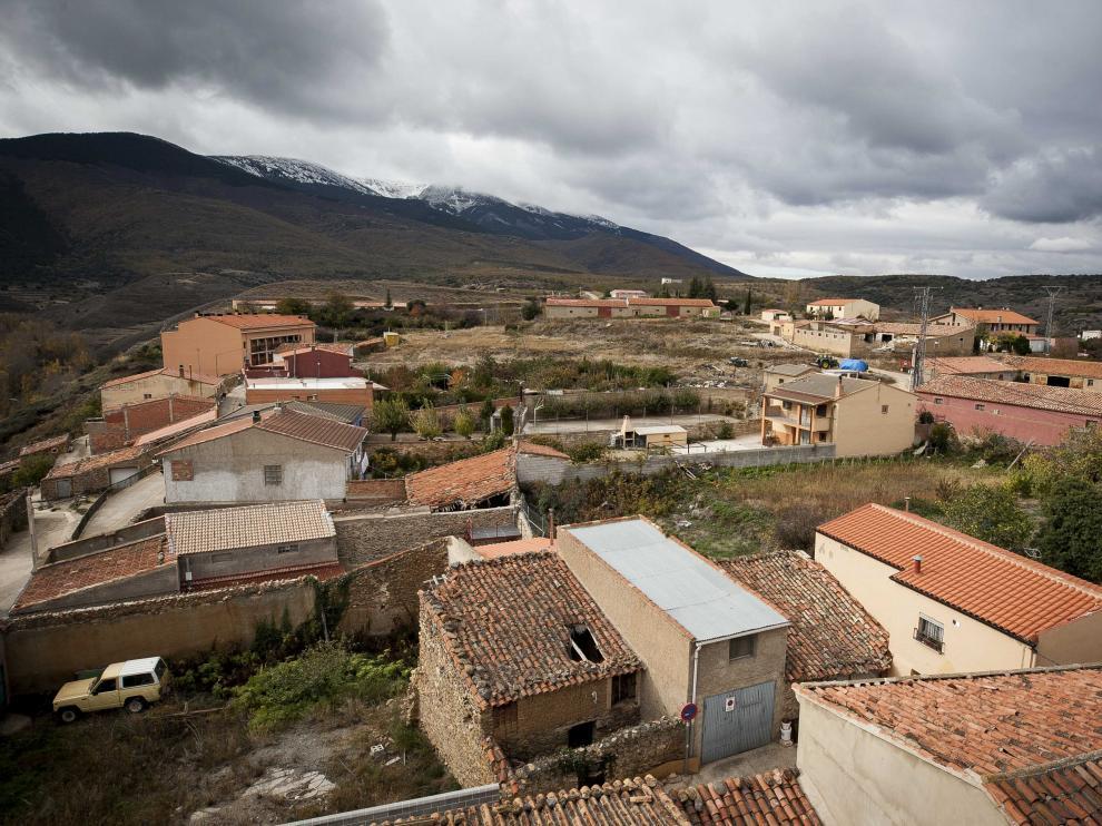 Vistas del Añón de Moncayo.