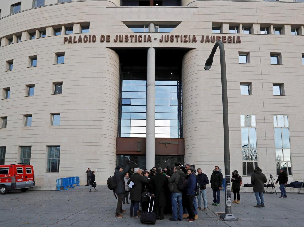 Audiencia de Pamplona donde se celebró el juicio a La Manada