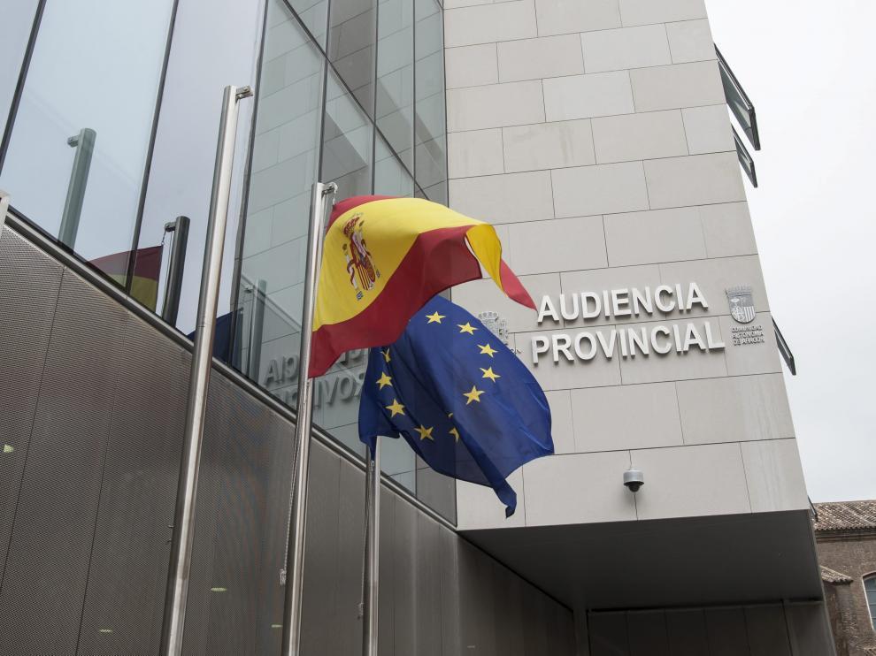 El juicio se celebró en la Audiencia Provincial de Zaragoza.