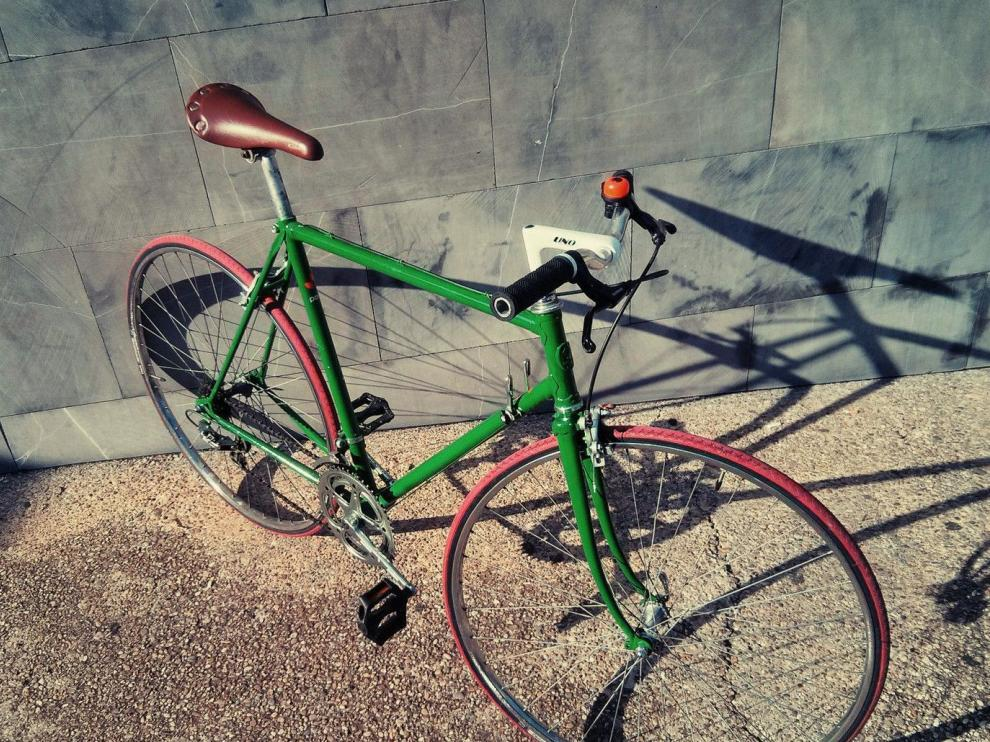 Imagen de una de las bicis robadas.