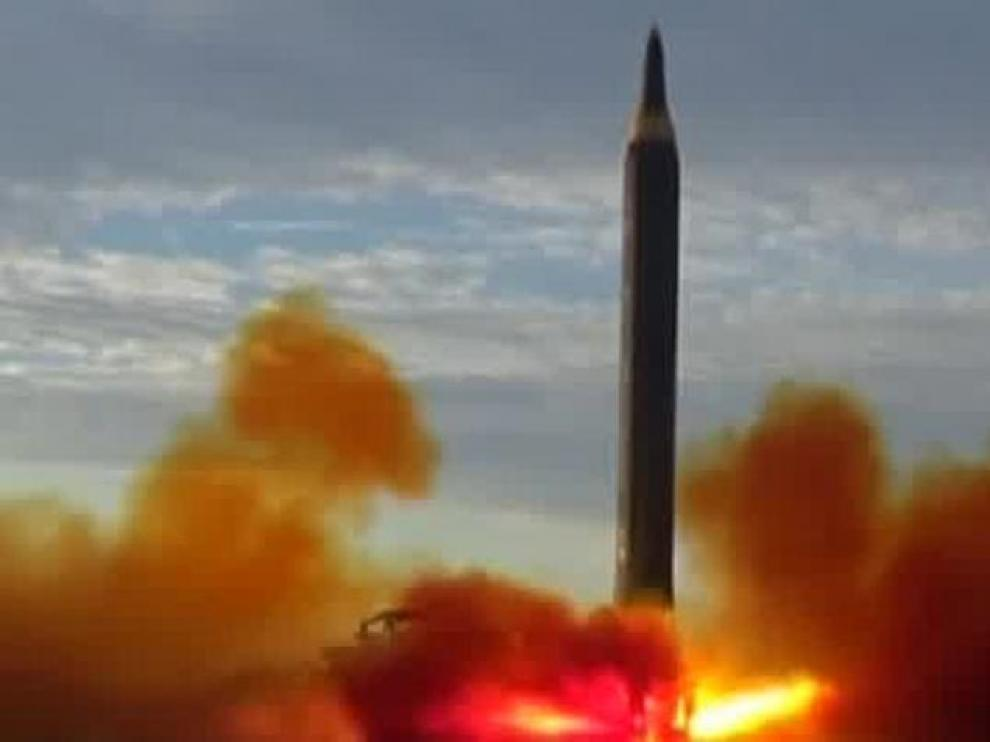 Un misil balístico norcoreano