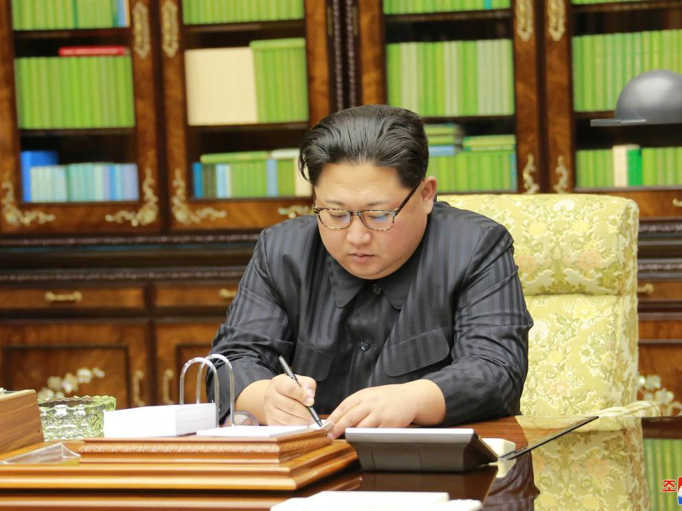 Kim Yong Un, líder de Corea del Norte.