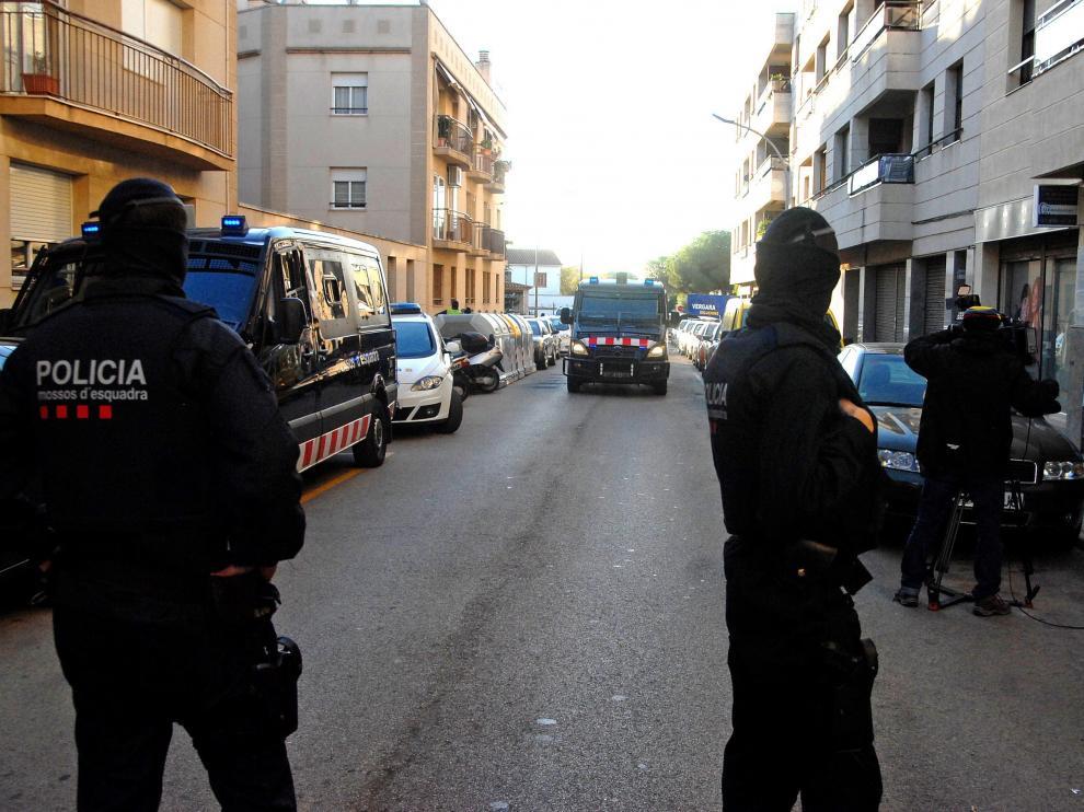 Los Mossos apuntan a que el suceso puede estar relacionado con el crimen organizado.