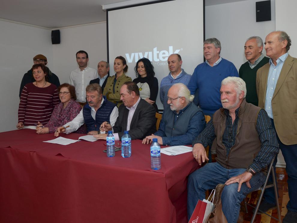 Los representantes de los grupos de desarrollo local se reunieron con la CEOE Teruel en Orihuela del Tremedal