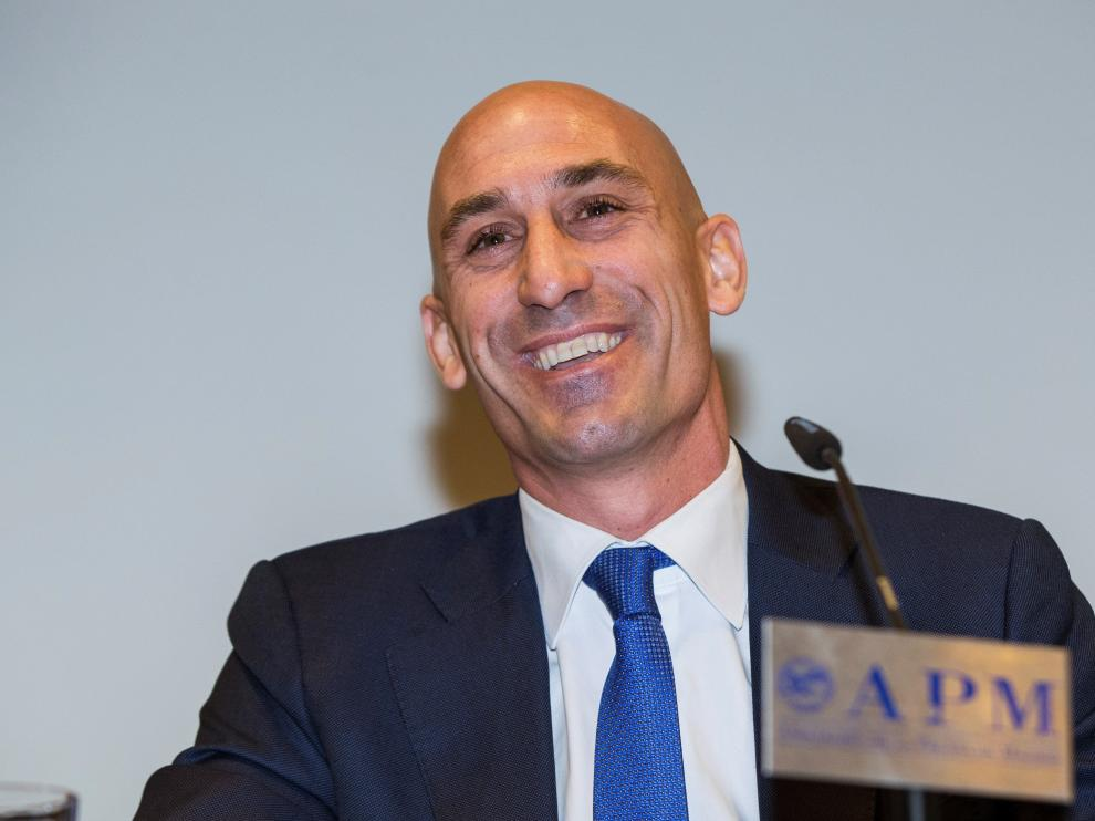 Luis Rubiales, presidente de la Asociación de Futbolistas Españoles.