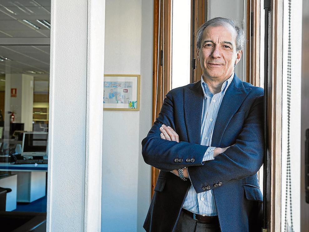 Adolfo Ramírez presentó esta semana su último libro en una jornada de la consultora Ayanet en Zaragoza.