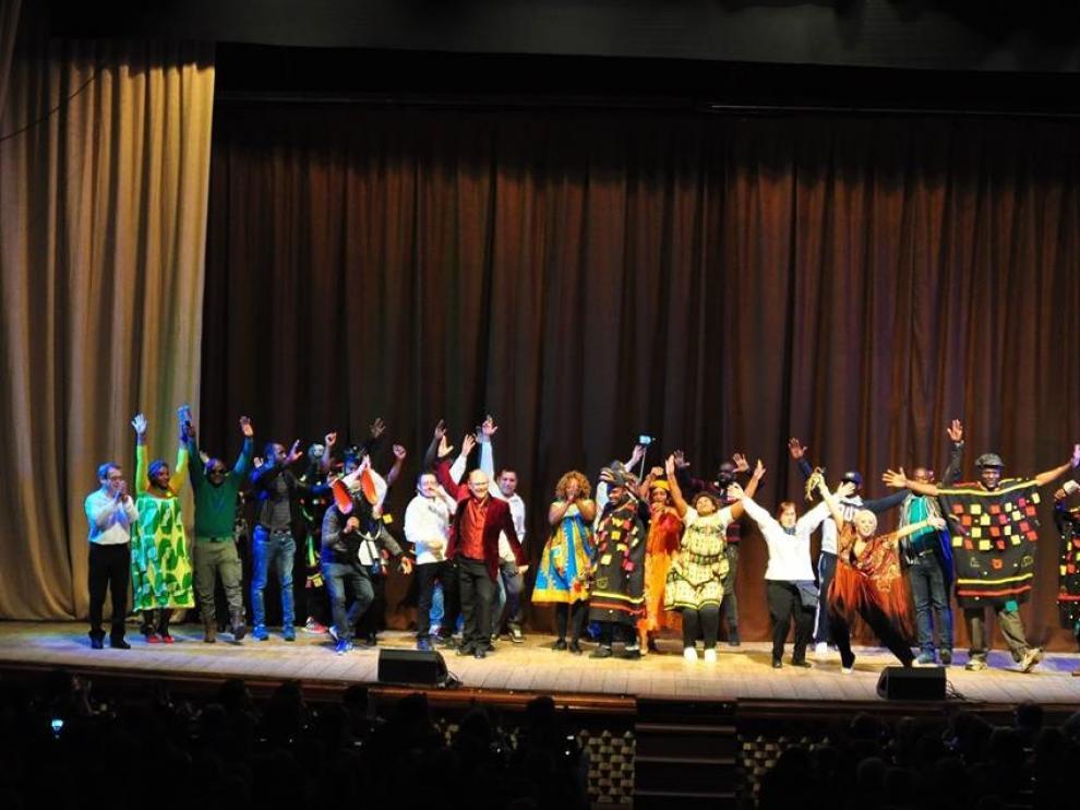 Imagen de la pasada edición del Festival Ilumináfrica.