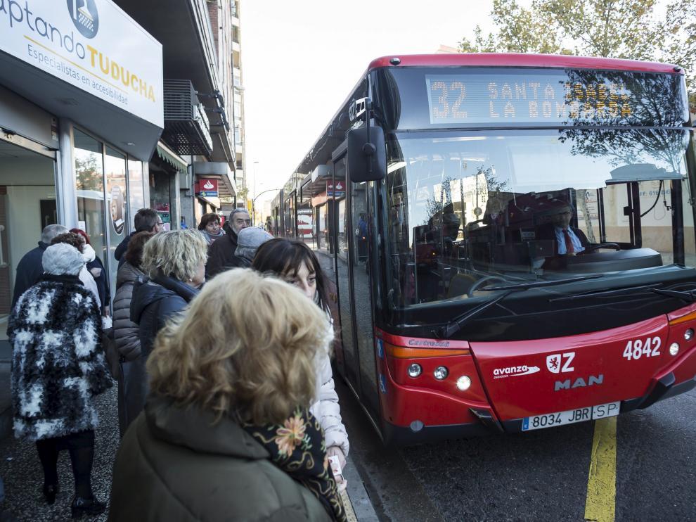 La medida afectaría al autobús y al tranvía