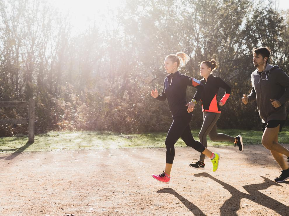 Algunas alergias se activan tras la práctica del deporte.