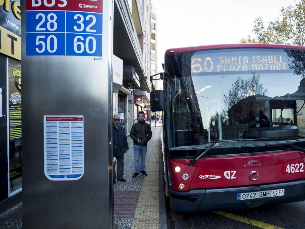 Santa Isabel estrena su línea 60 de autobús