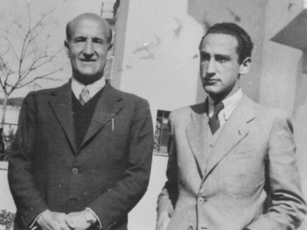 Vicente Aleixandre y Carlos Bousoño, su estudioso y amante, en los años 60