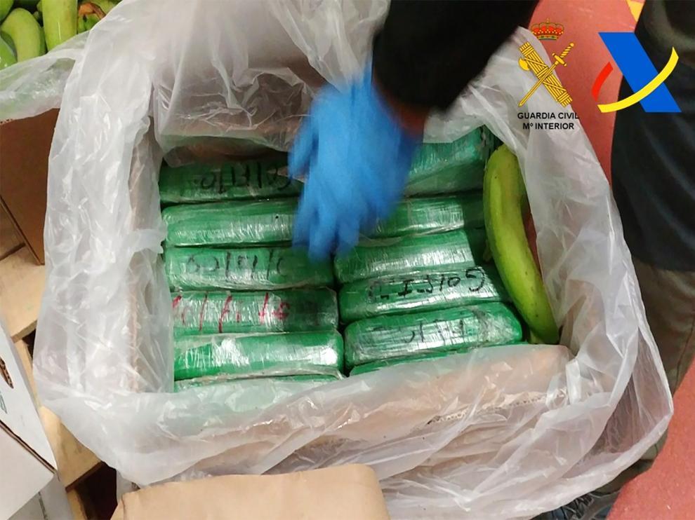 Cocaína  inacutada. Imagen de archivo