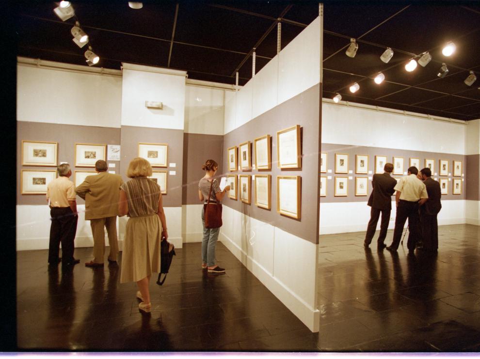 La CAI, tras comprar los grabados, realizó dos ediciones facsímiles, y una de ellas la usó para exponerla al público.