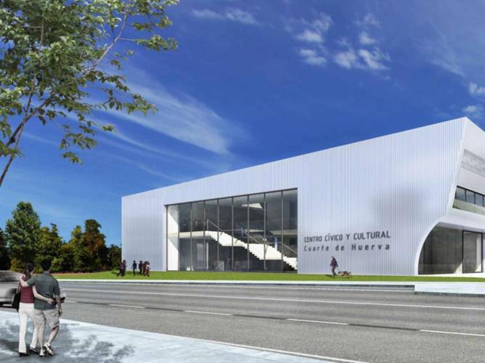 Las obras del centro cívico y cultural de Cuarte siguen sin fecha de ...