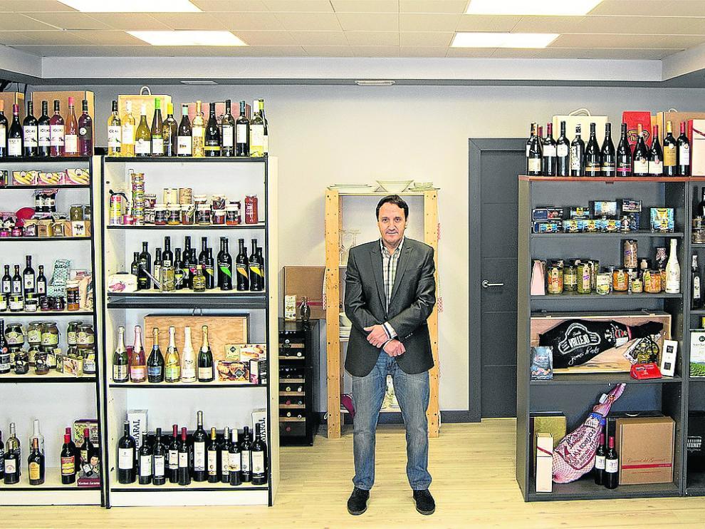 Juan Ignacio Aznárez, gerente de Central del Gourmet, en las oficinas de la empresa.
