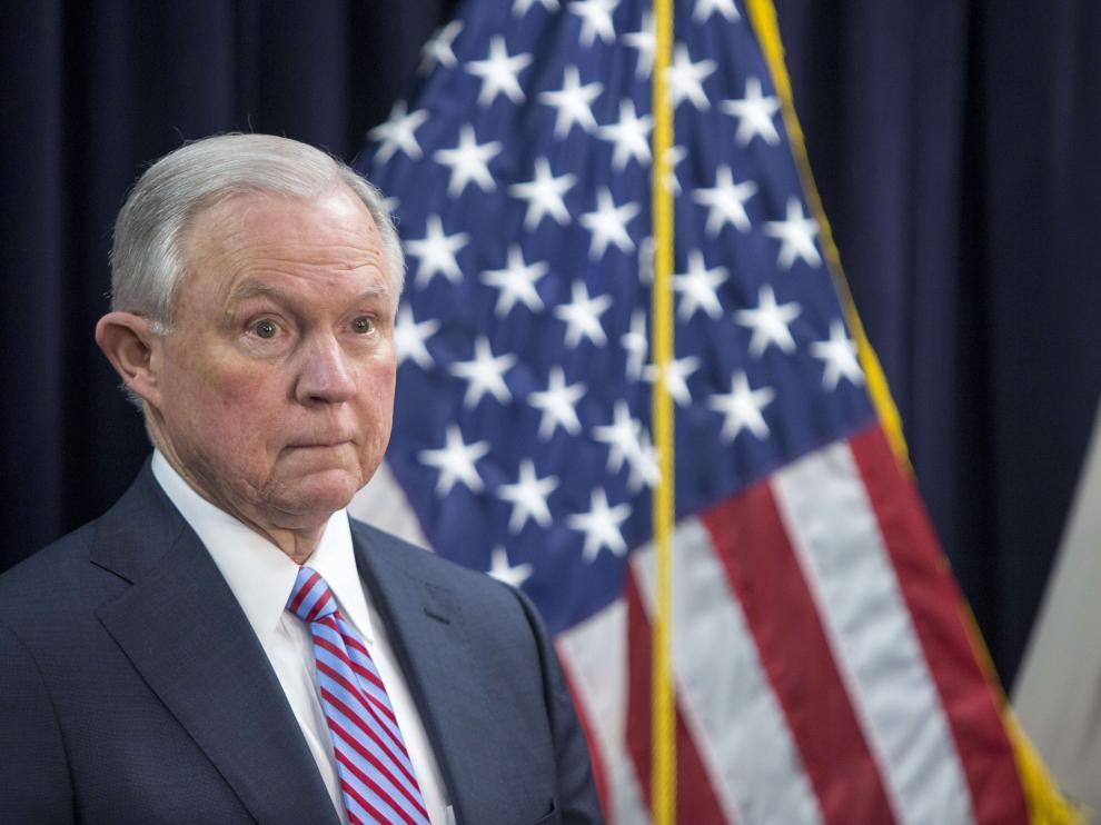 Jeff Sessions, candidato republicano por Alaba