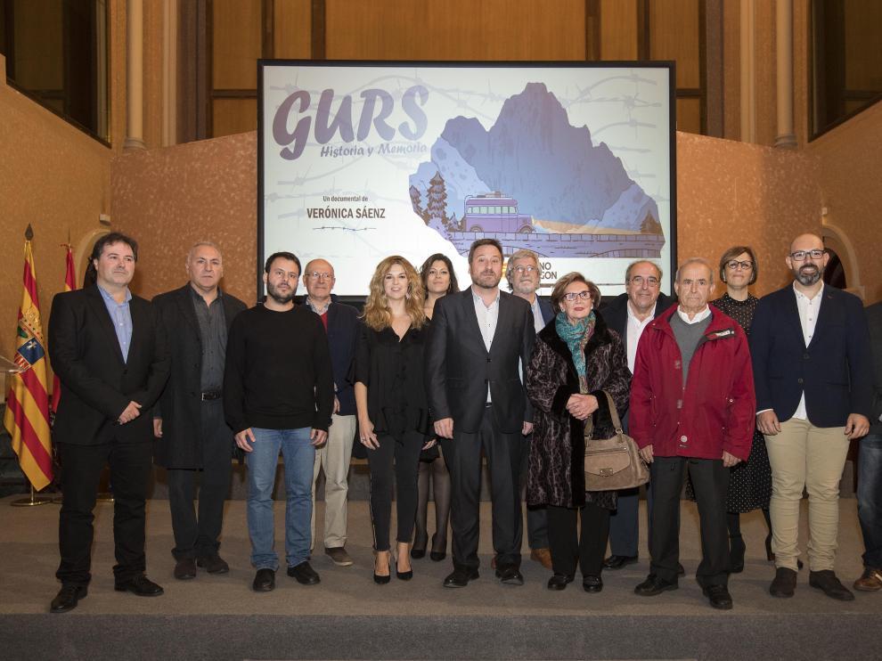 """Presentación del documental """"GURS, historia y memoria""""."""