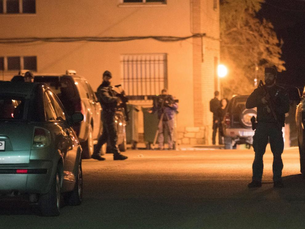 Operativo de búsqueda del autor del tiroteo entre Albalate del Arzobispo y Andorra