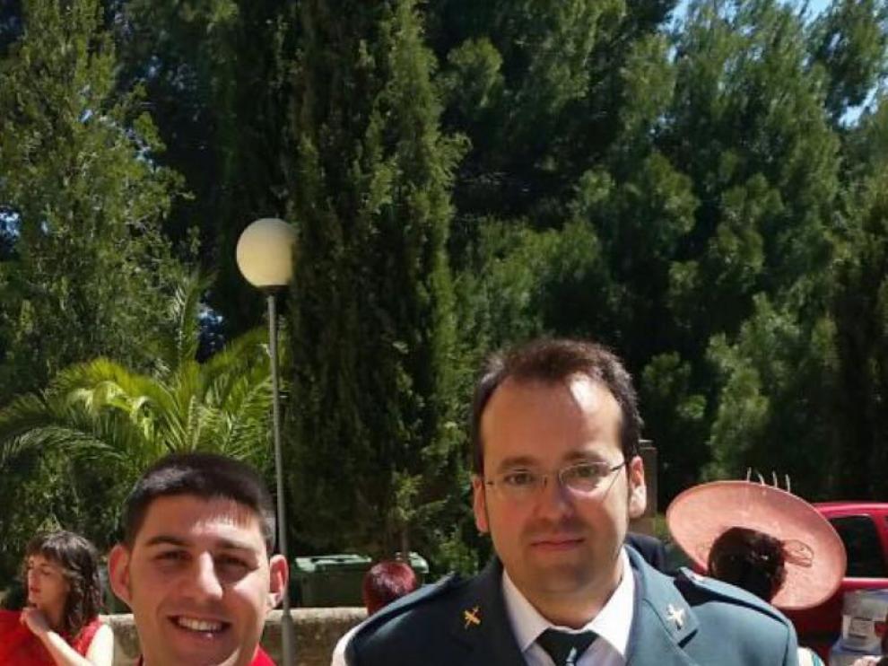Víctor Romero y Víctor Jesús Caballero, los dos guardias civiles asesinados