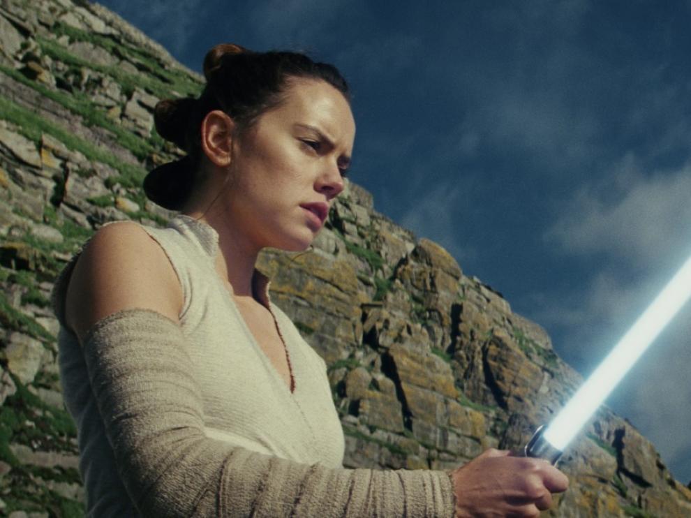 Daisy Ridley vuelve a ser una de las protagonistas de 'Star Wars'.