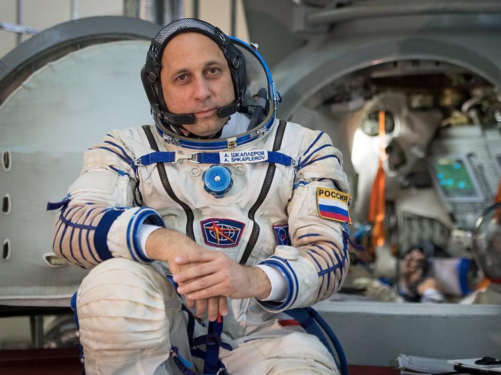 El astronauta ruso Antón Shkaplerov.