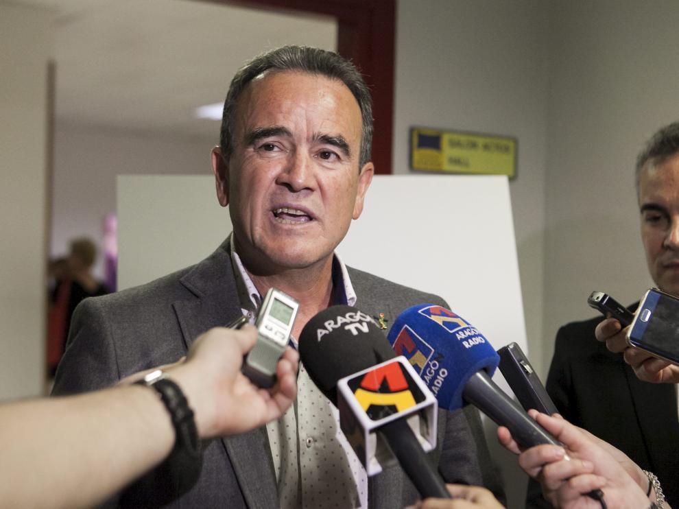 Juan Antonio Sánchez Quero, presidente de la DPZ.