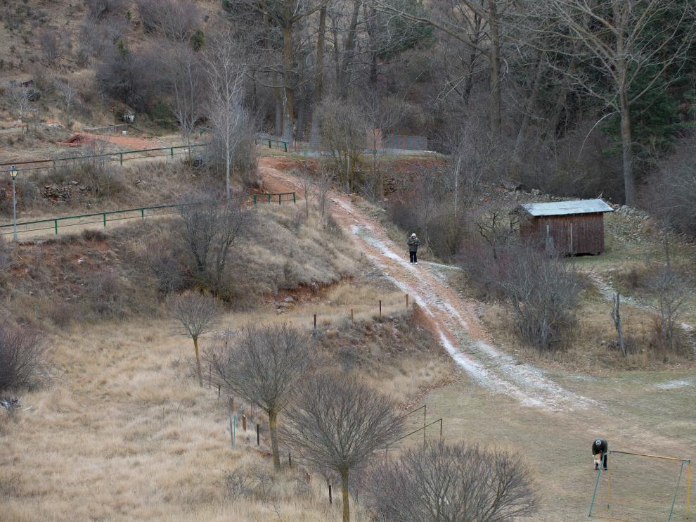 Ladera del Mas Blanco en la que se construirá la pista de esquí con nieve sintética.