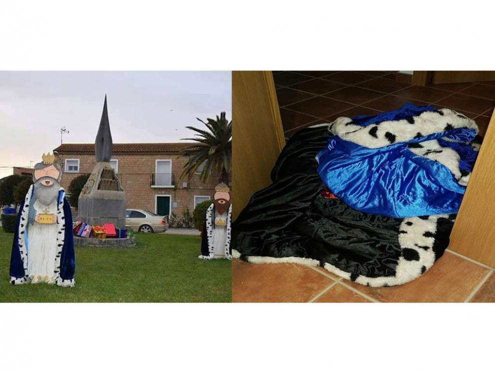 Los Reyes Magos de San Lorenzo ya con sus capas