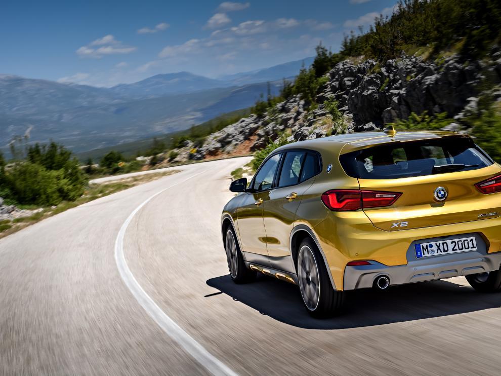 El nuevo BMW X2, el rebelde de la familia.