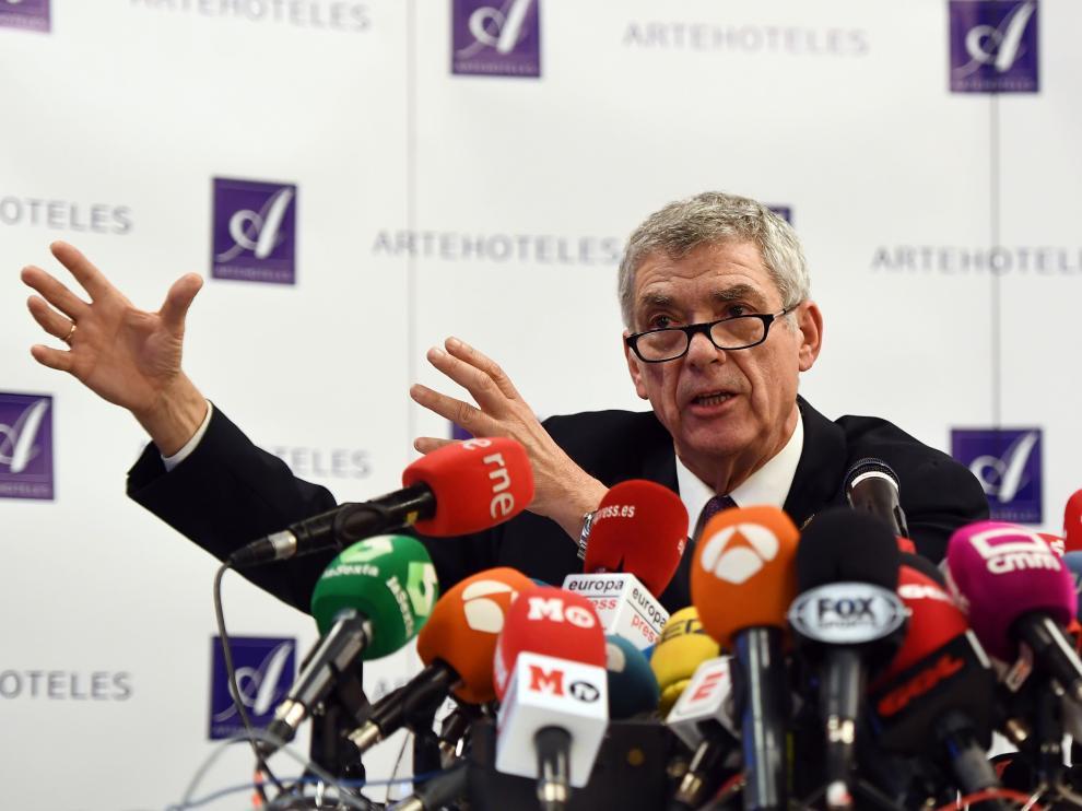 Ángel María Villar, presidente cesado de la RFEF.