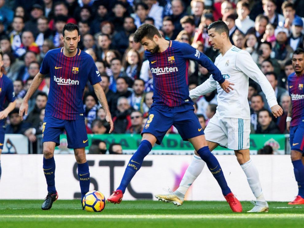 Un derbi Madrid-Barça. Lo más de lo más en cuestiones futbolísticas.