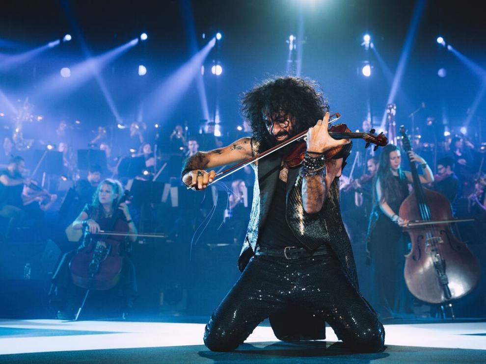 Ara Malikian, entregado en un concierto en el Príncipe Felipe.